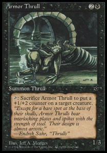 Armor Thrull (copyright Wizards of the Coast)