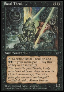 Basal Thrull (copyright Wizards of the Coast)