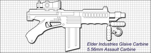 Elder Glaive Carbine from www.dreadgazebo.com