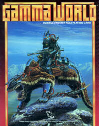 Third Edition Gamma World by TSR