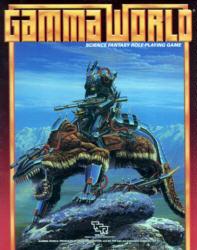 Third Edition Gamma World by TSR