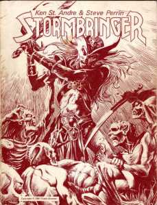 Stormbringer, 1981 edition, by Chaosium