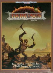 Dark Sun D&D Campaign Setting