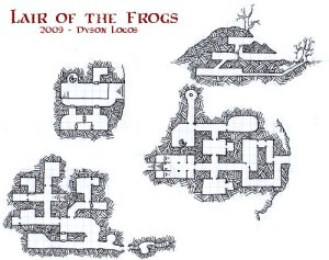 Lair of the Frogs