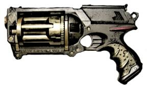 Blackpowder Clockwork Firearm