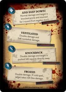 Critical Hits (from Paizo's Critical Hit Deck)