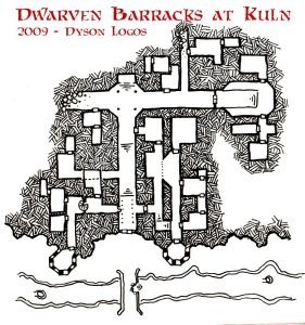 The Dwarven Barracks at Kuln