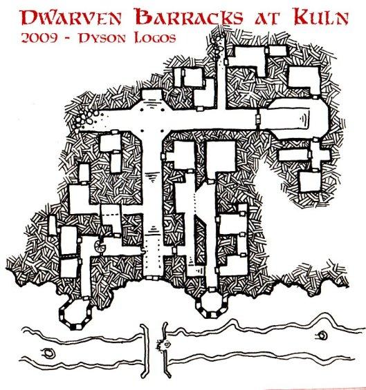 The Dwarven Barracks at Kuln