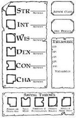 Character Sheet Detail