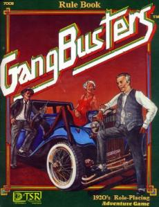 TSR's Gangbusters, First Edition