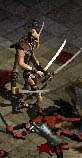 A Desert Raider (from Diablo II)