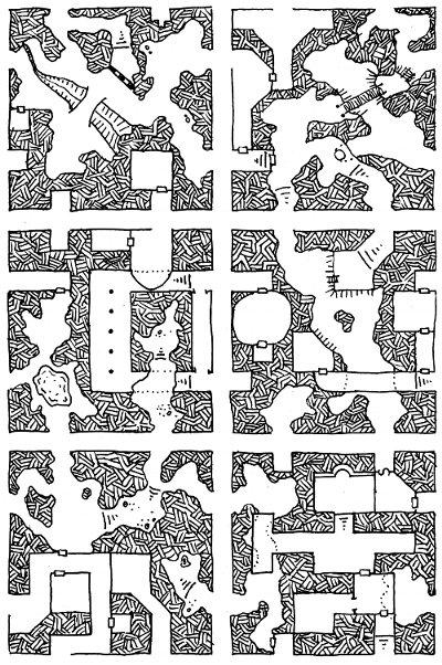 Geomorph Set 1