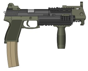 The Ingram 66 Special, made with Pimp My Gun