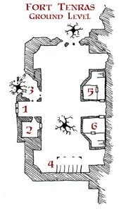 Fort Tenras, 2 Maps
