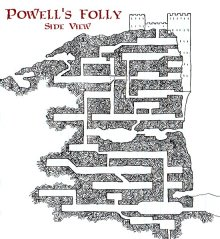 Powell's Folly - Side View