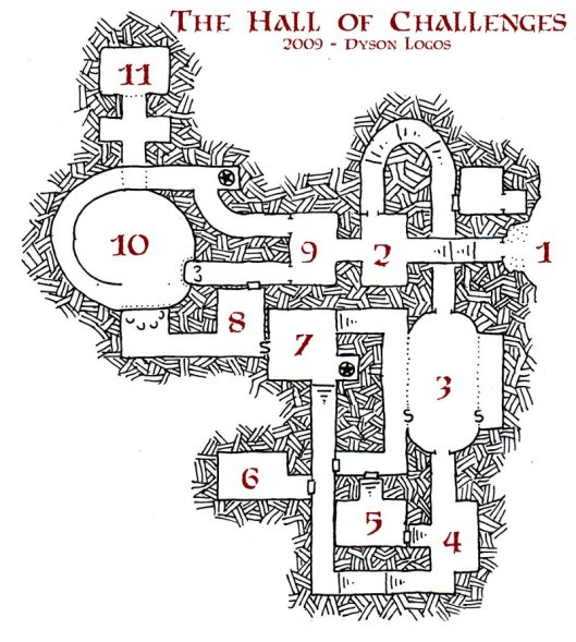 The Hall of Challenges