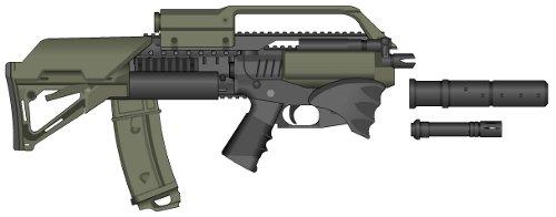 Trusov I.G. Mark 48 Submachine Gun