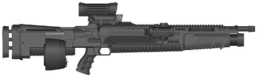 Zorg Industries Light Assault Gun