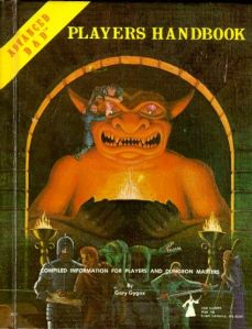 AD&D1e Players Handbook from TSR