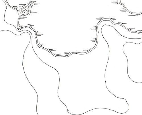 Cruar's Cove - Terrain Map