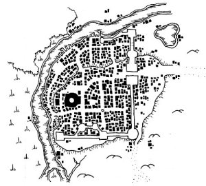 "Map of Coruvon - ""The Swamp Arena"""