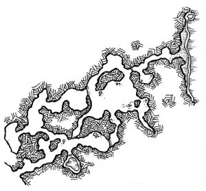 Seaside Cave Map