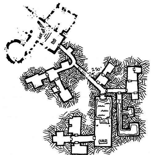 Map of the Secret Throne Room