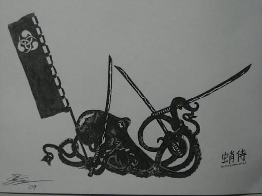 Octo-Samurai by Josh