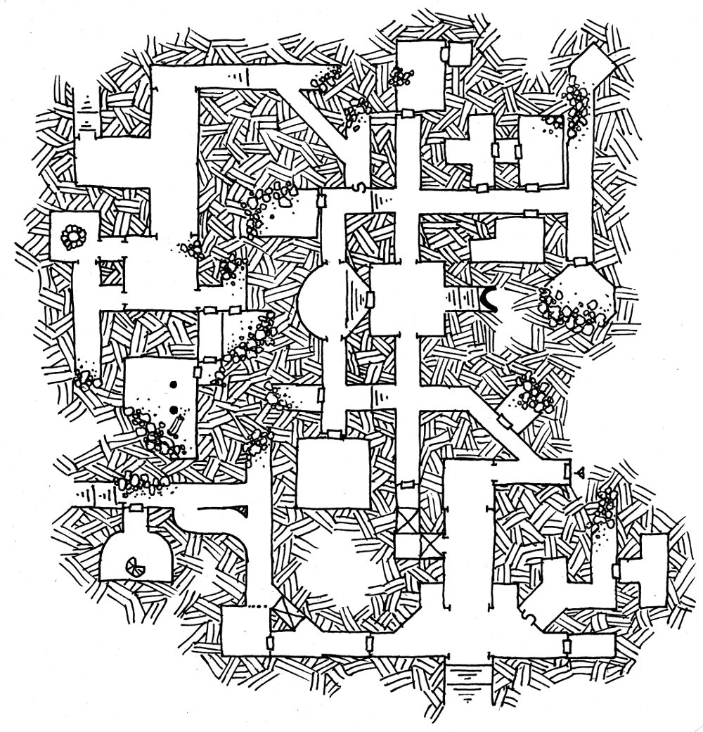 Friday Map Return to The Temple of Illhan part 1 Dysons