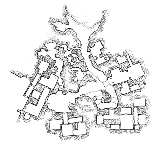 The Fortress East - Level 1