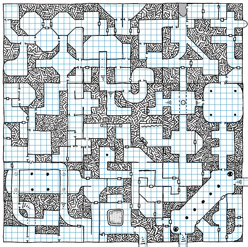 map  lord kilgore u2019s alpha dungeon