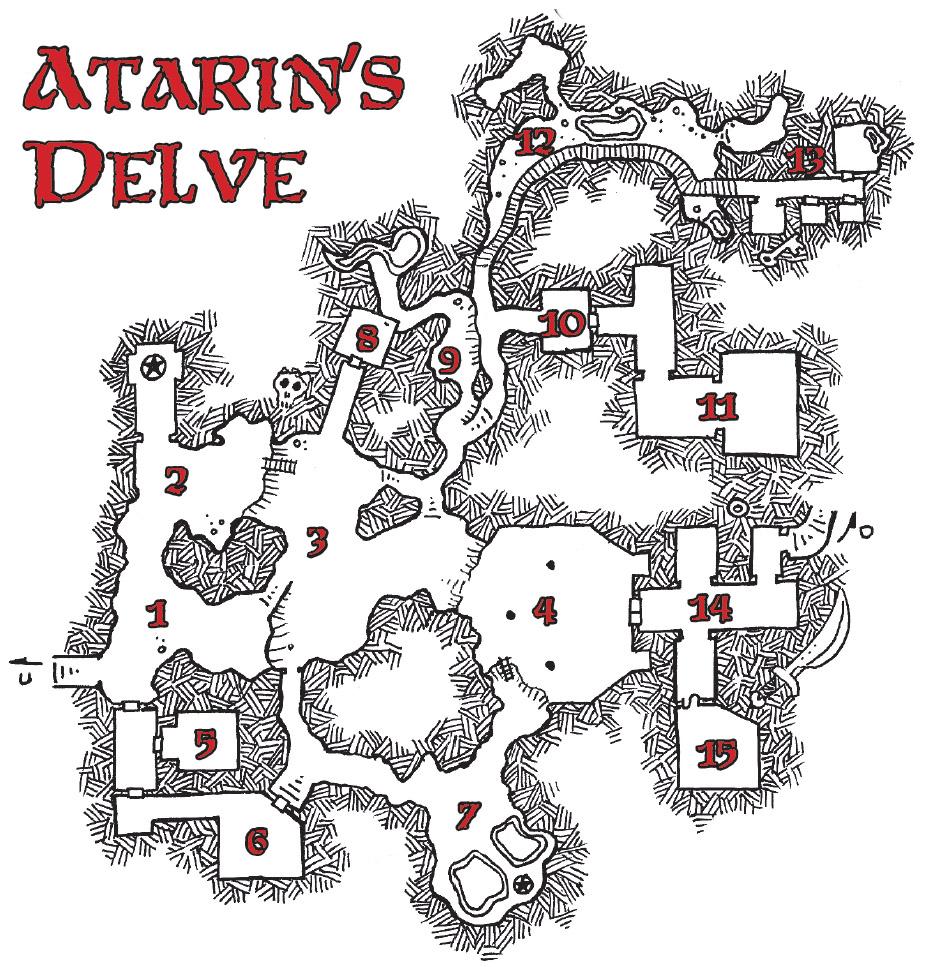 goblinoidgames com • View topic - Atarin's Delve - a small