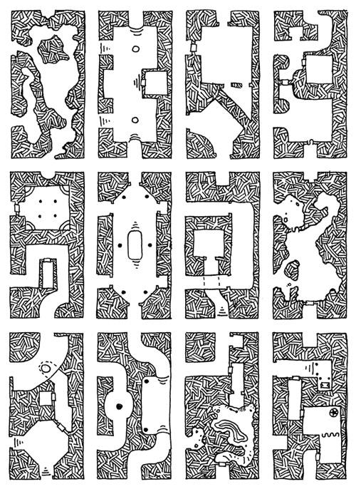 Geomorphic Endcaps Set 2