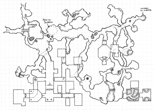 One Hour Dungeon - Raw Scan