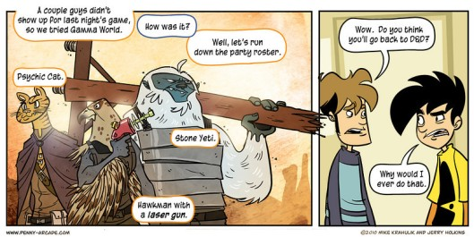 Penny Arcade plays Gamma World