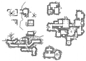 Two Hour Map - The Ruins of the Gorgon