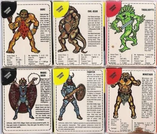D&D Candy Trading Cards