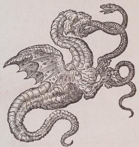 Dragon Woodcut