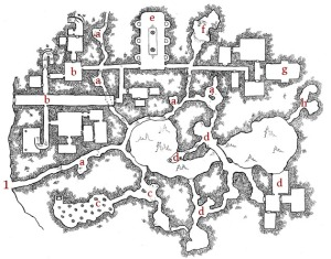 Ember Crag - Keyed Map