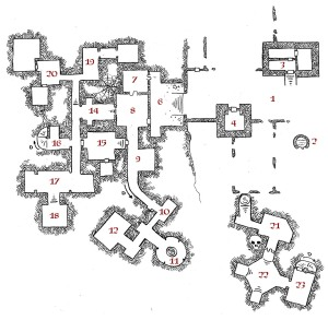 Erdea Manor - Surface and Level 1 (keyed)