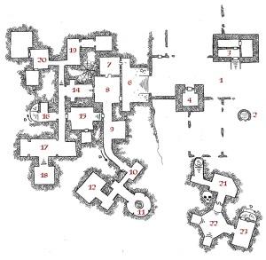 Erdea Manor - Surface and Level 1 (keyed)