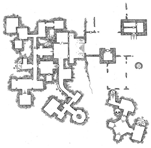 Erdea Manor - Surface and Level 1