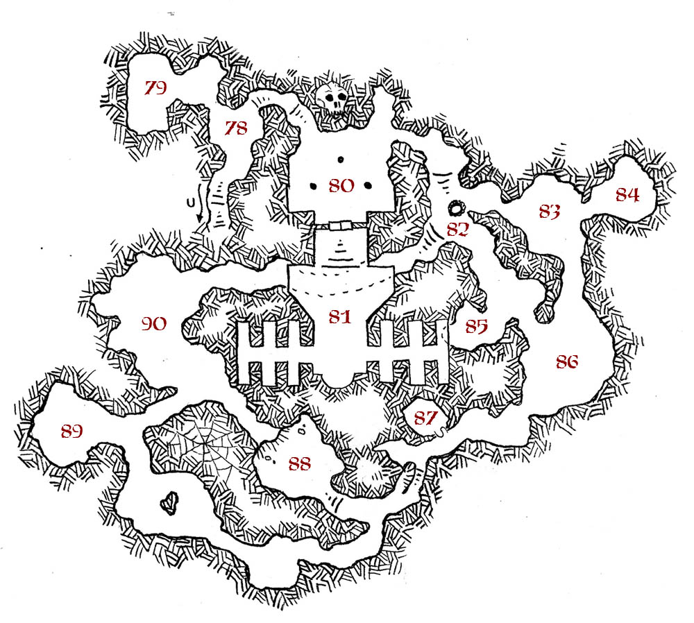 Friday Map] Erdea Manor's Catacombs | Dyson's Dodecahedron on
