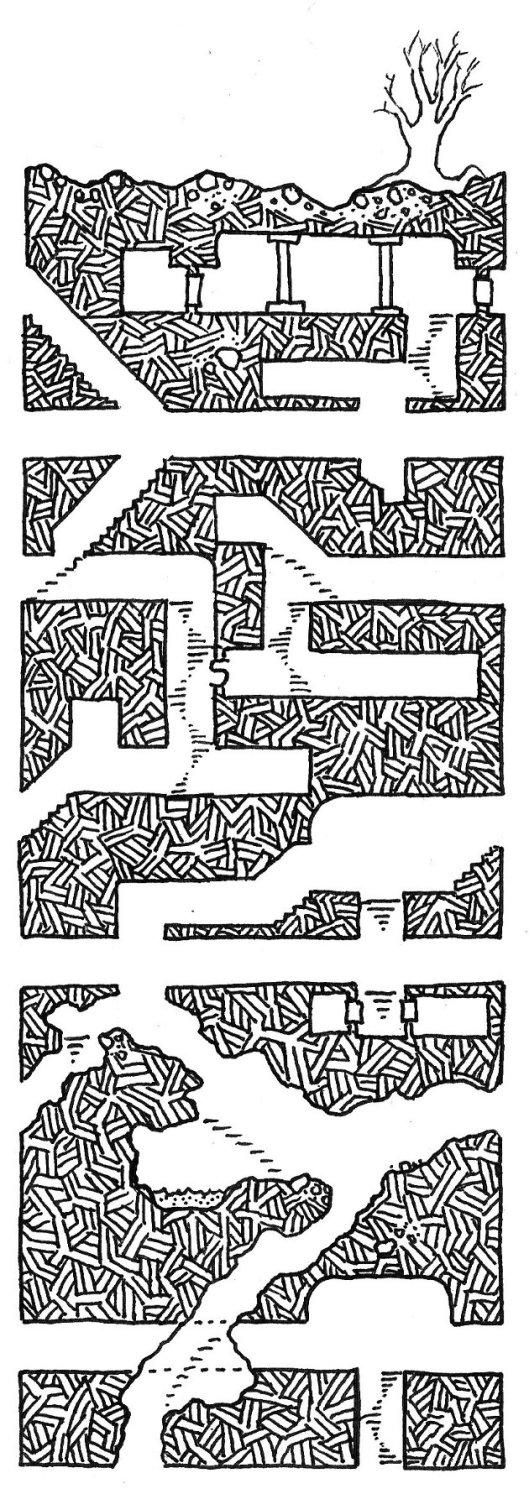 Jeff Rients' Performing Monkey Geomorphs - part 3