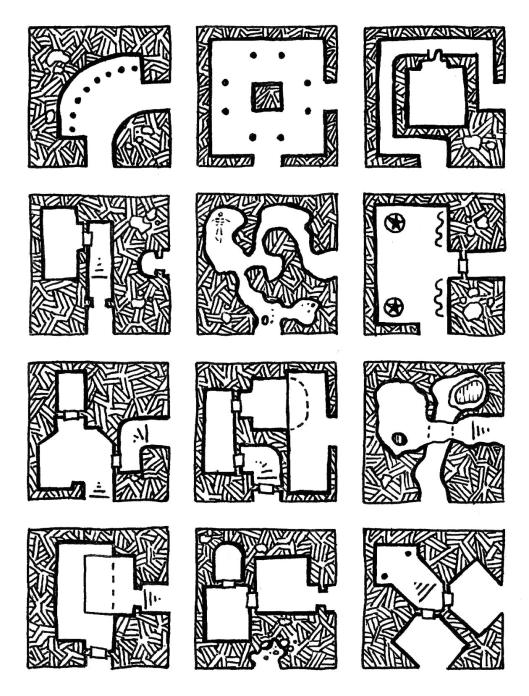 12 Corner Geomorphs - Set 2