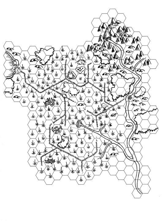 Frog Idol Hexmap