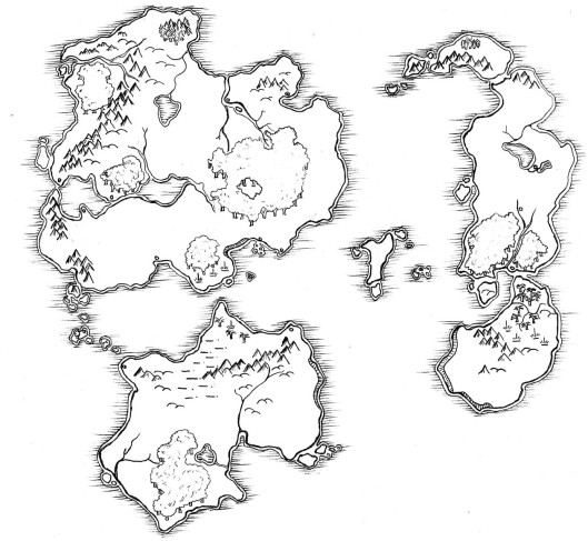 The Lost Islands
