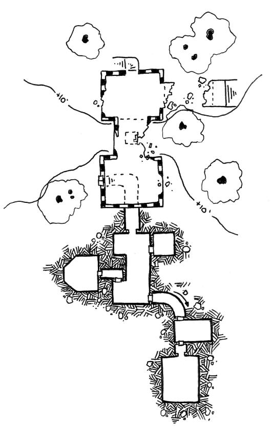 Ruins of Dreven Hill
