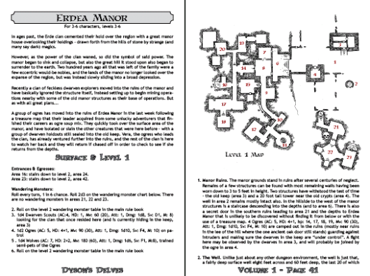 Dyson's Delves Interior
