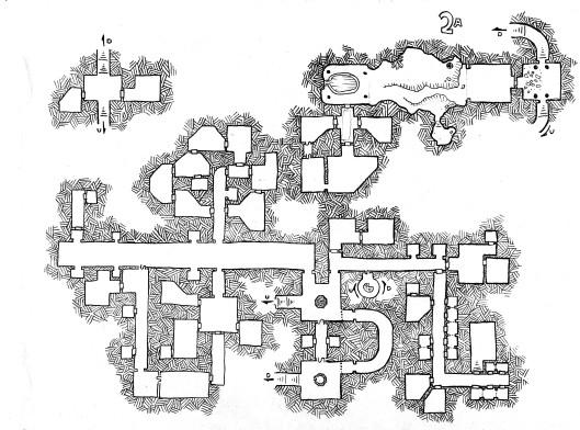 Darkling Depths Map 2A